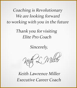 executive coach resumes
